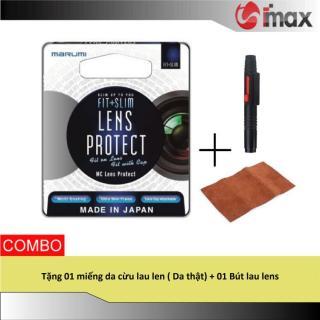 Kính lọc Filter Marumi Fit & Slim Lens Protect 58mm (Hoằng Quân) + Bút lau lens thumbnail