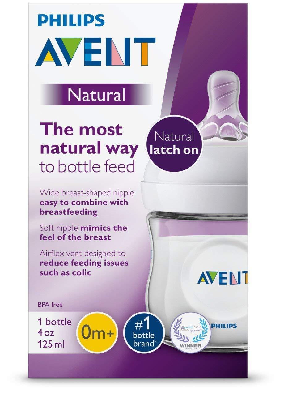 Bình sữa Philips Avent Natural Dung Tích 125ml