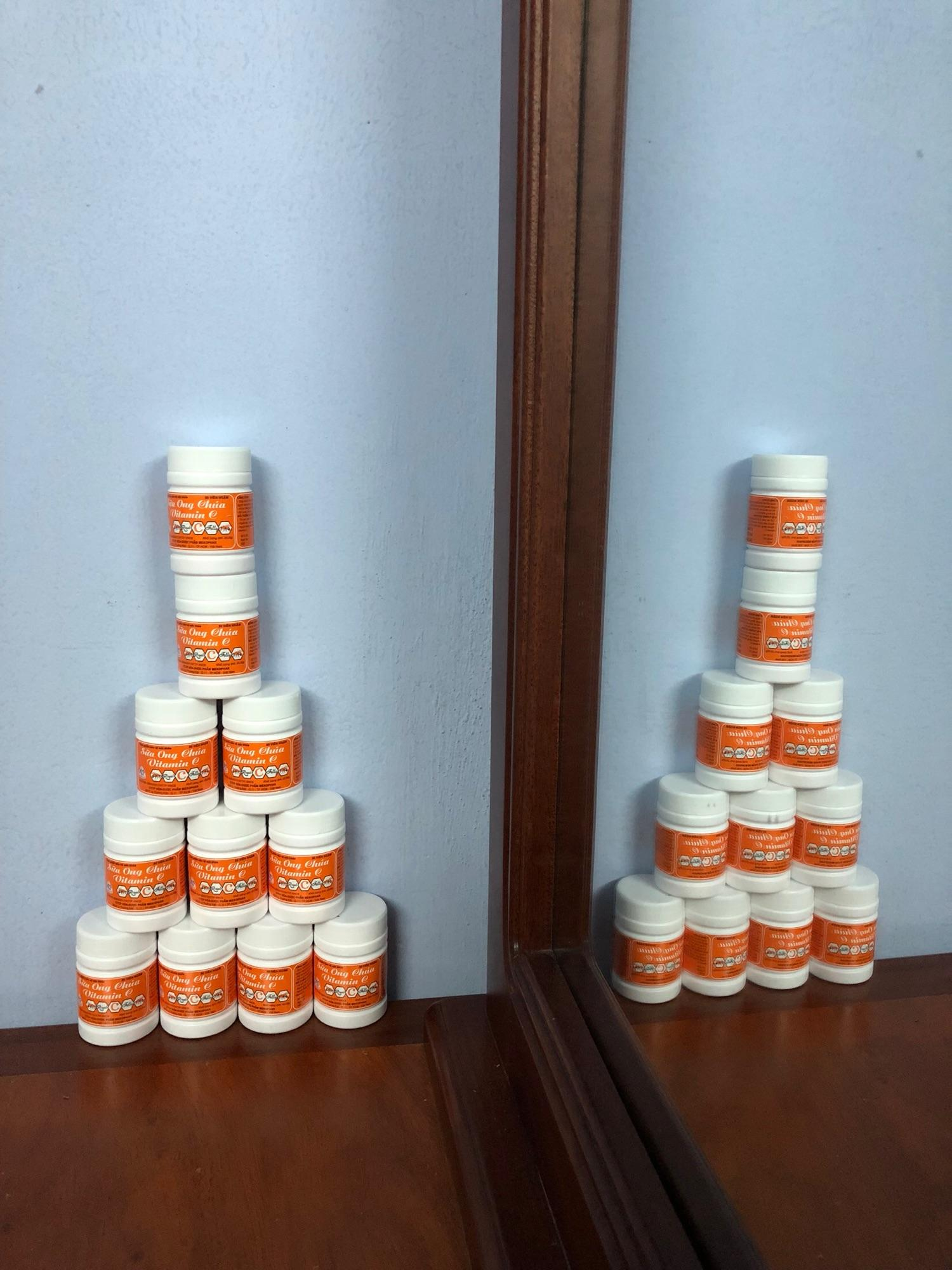 Sữa ong chúa vitamin C