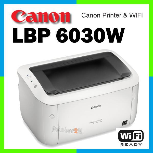 Máy in Laser đen trắng Canon LBP 6030w - Hàng Nhập Khẩu mới bảo hành 12 tháng