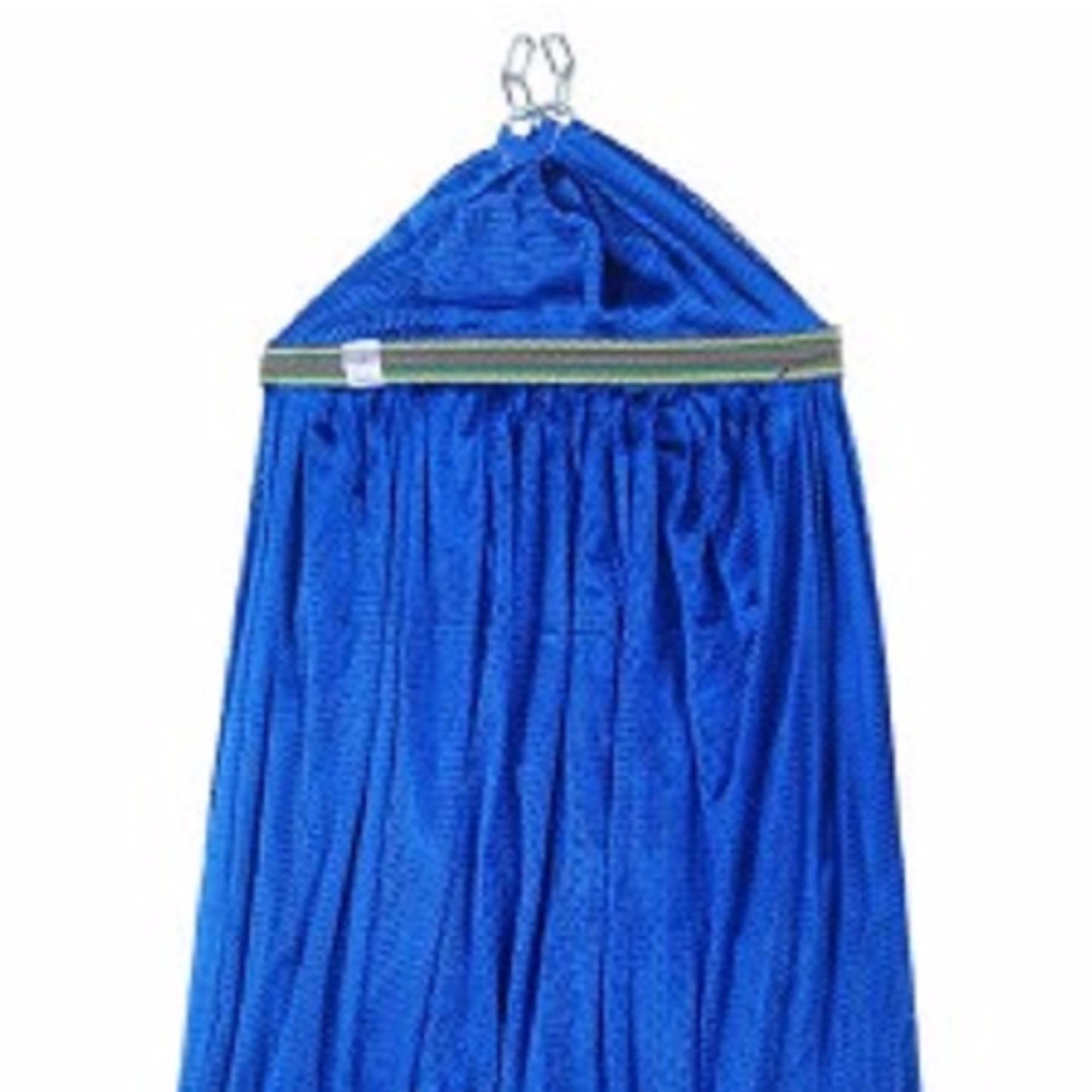 Lưới Võng Cán Thép 50cm màu xanh dương