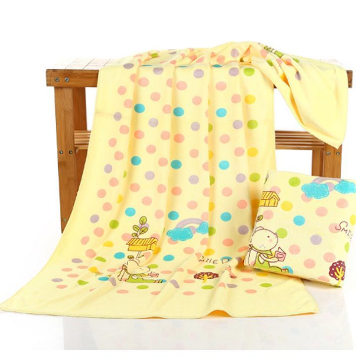 Khăn tắm siêu mềm cho bé kt 70x140cm