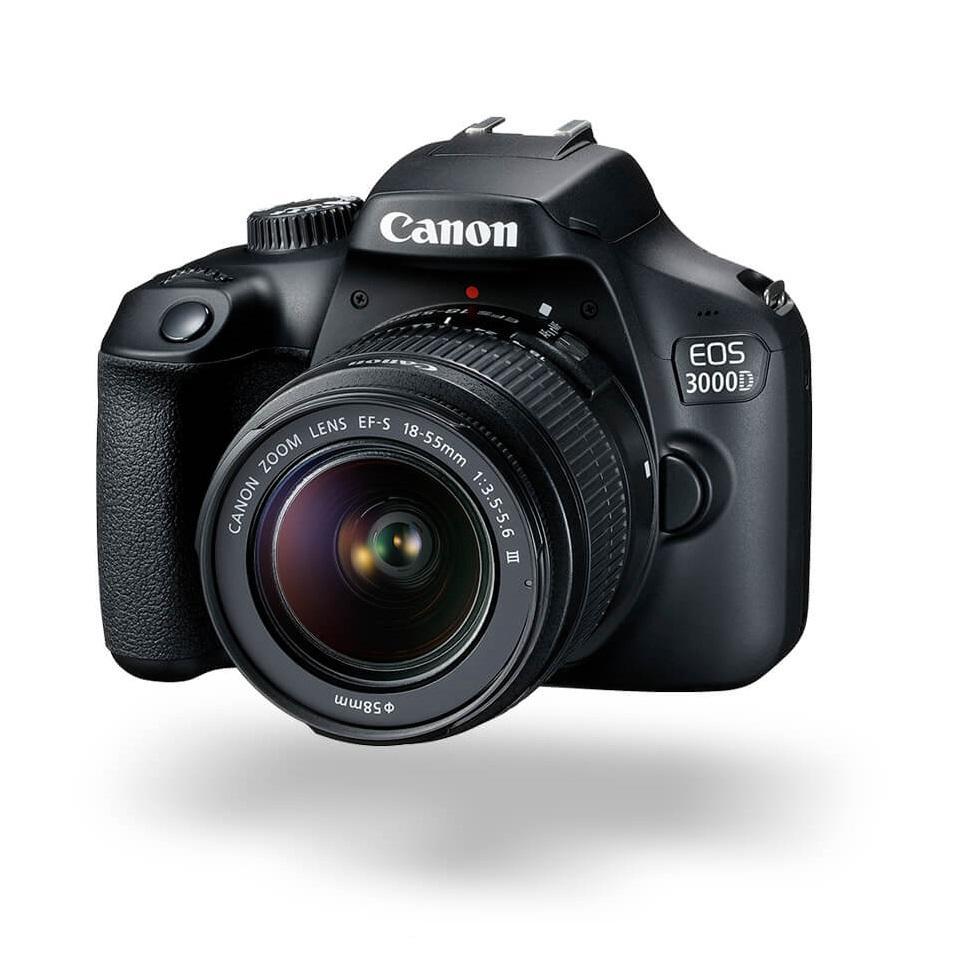 Máy ảnh Canon EOS 3000D KIT (EF S18-55 III) phân phối chính hãng