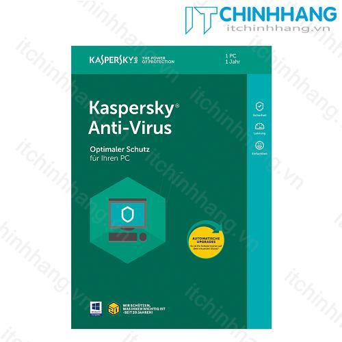Kaspersky Anti Virus 1PC (1 năm) - Hãng Phân Phối Chính Thức