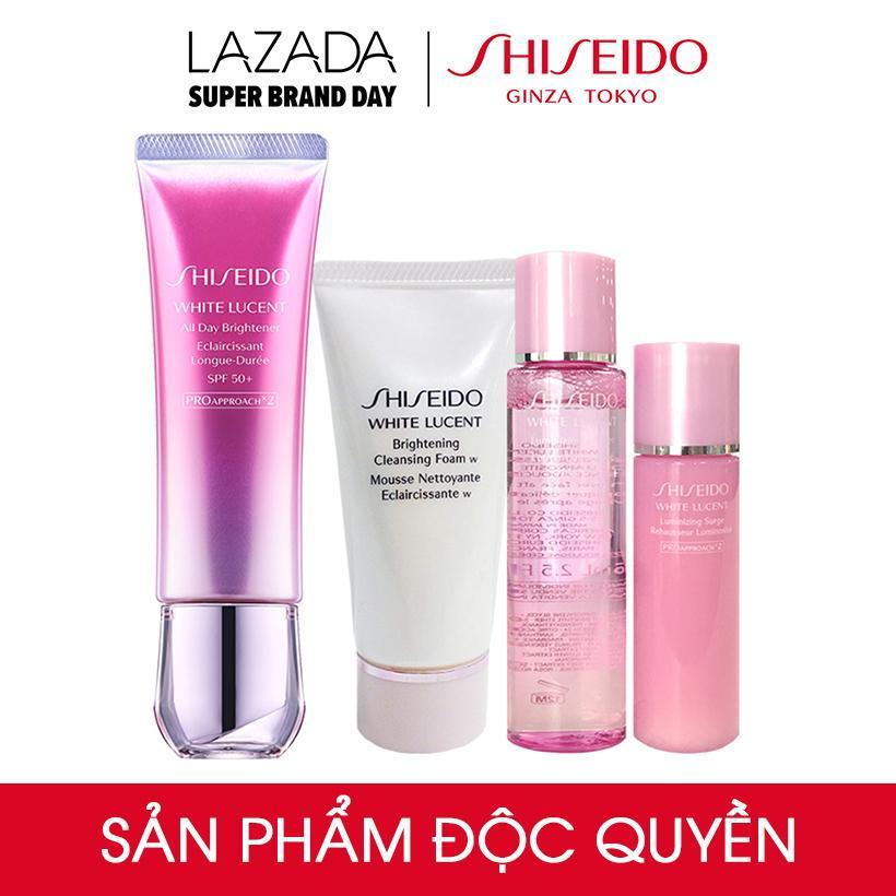 Bộ sản phẩm dưỡng trắng toàn diện Shiseido All Day...