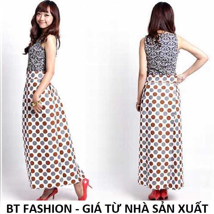 Váy Chống Nắng (Loại Tốt) 2 Lớp + 2 Mặt, Có Túi Tiện Lợi - BT Fashion - Giao màu ngẫu nhiên (VCN02)