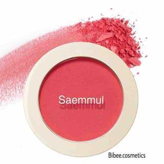 SALE SỐC Phấn Má Hồng The Saem Single Blushermàu PK01 hồng huỳnh quang siêu ngọt ngào và quyến rũ thumbnail