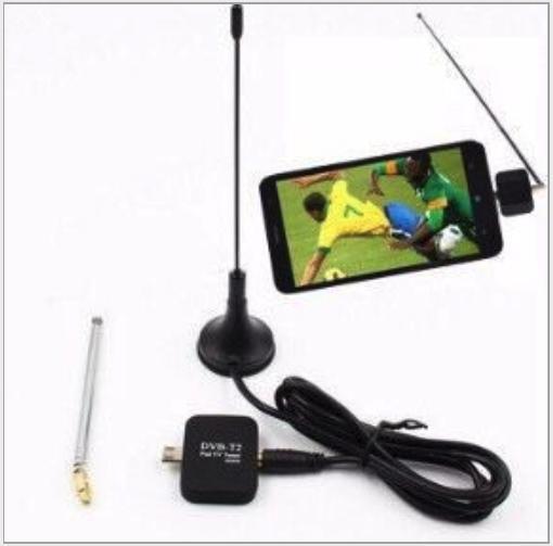 Thu truyền hình kỹ thuật số mặt đất DVB T2 cho Smartphone Android Micro USB
