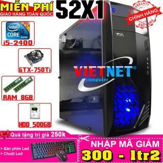Máy tính chơi game VNgame 52X1 i5 2400 GTX750Ti 8GB 500GB (chuyên LOL, GTA 5, Fifa, Battelground, Overwatch) thumbnail