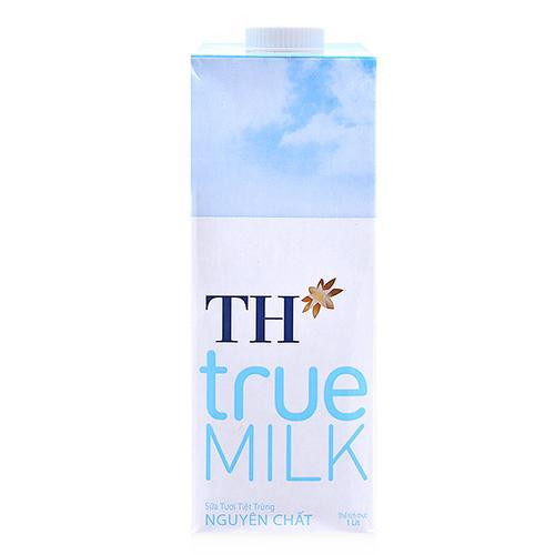 Sữa tươi tiệt trùng nguyên chất TH True Milk hộp 1L