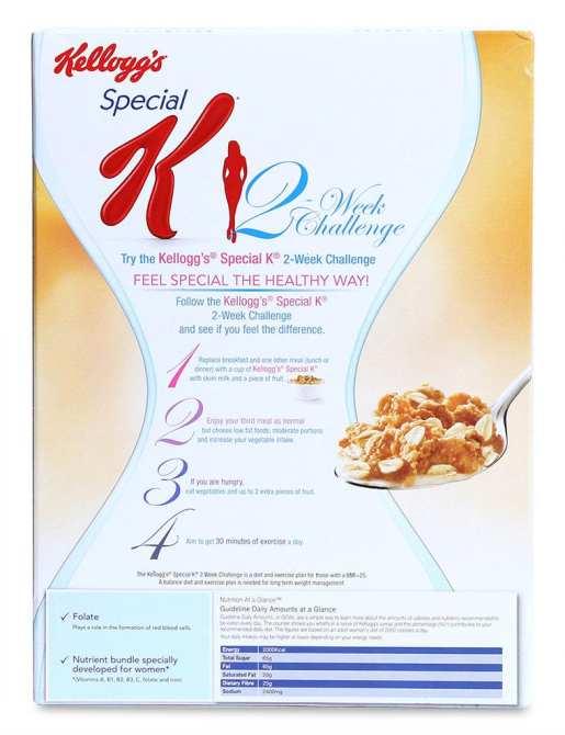 Hình ảnh Ngũ Cốc Ăn Kiêng Kellogg's Special K Oats & Honey Hộp 209G
