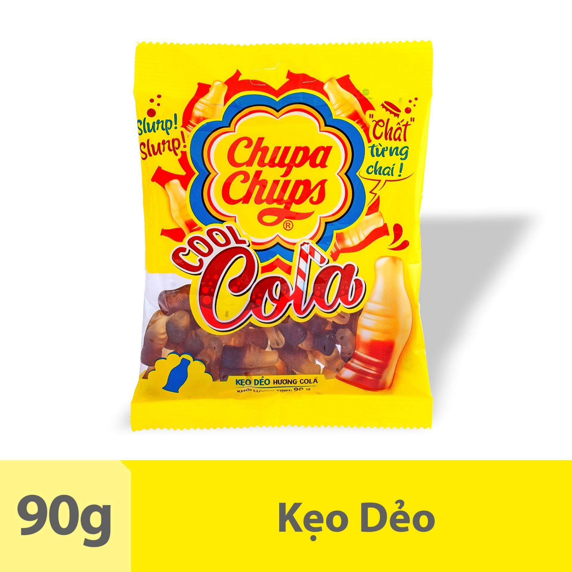 Kẹo Dẻo Chupa Chups Cool Cola (Gói 90g)