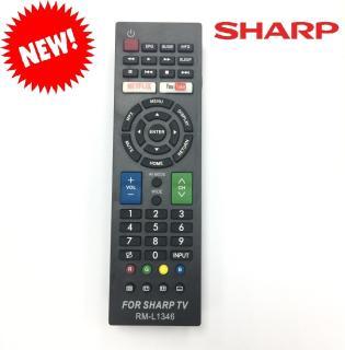 REMOTE ĐIỀU KHIỂN TIVI SHARP SMART RM-L1346 (HÀNG KHÔNG HỘP-GIÁ RẺ) thumbnail