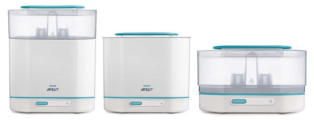 Máy tiệt trùng bình sữa Philips Avent 3 trong 1