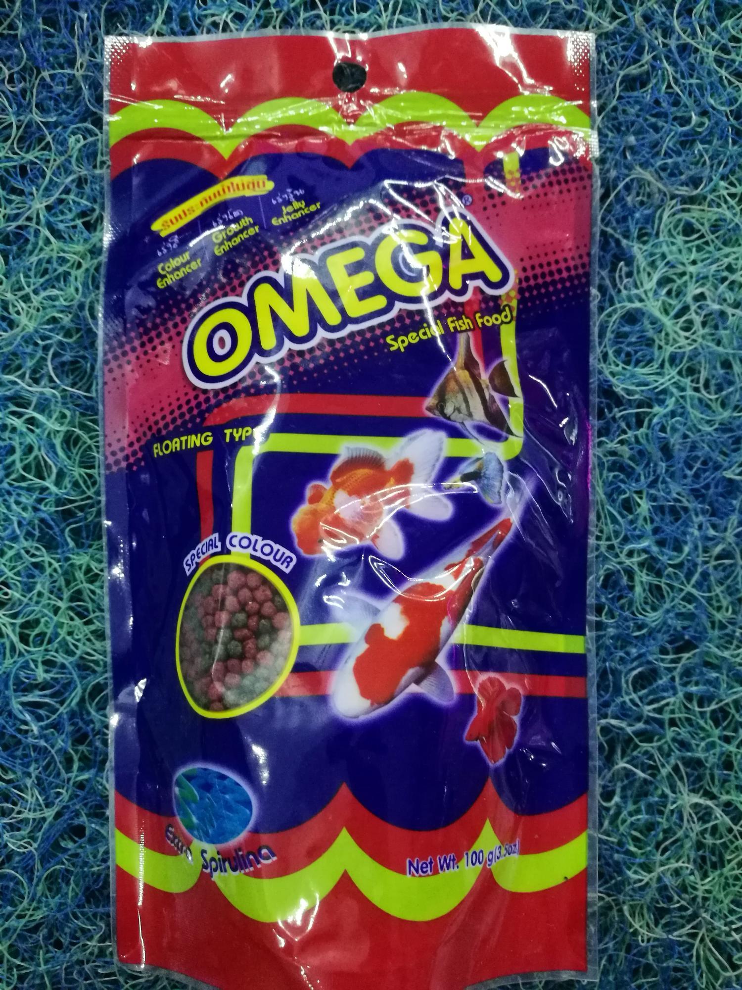 Thức ăn chống đục nước Omega hạt trung