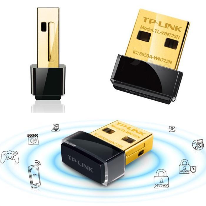 USB thu phát wifi Nano TP-Link 725N tốc độ 150Mbps