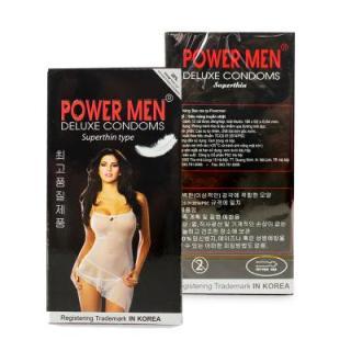 Bao Cao Su Siêu Mỏng PowerMen Super Thin Hộp 12 Chiếc thumbnail