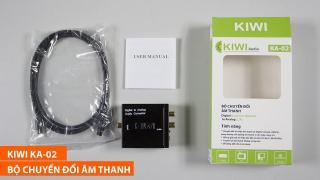 Bộ chuyển âm thanh KIWI BOX TV 4K quang optical sang audio AV ra amply KA02 thumbnail
