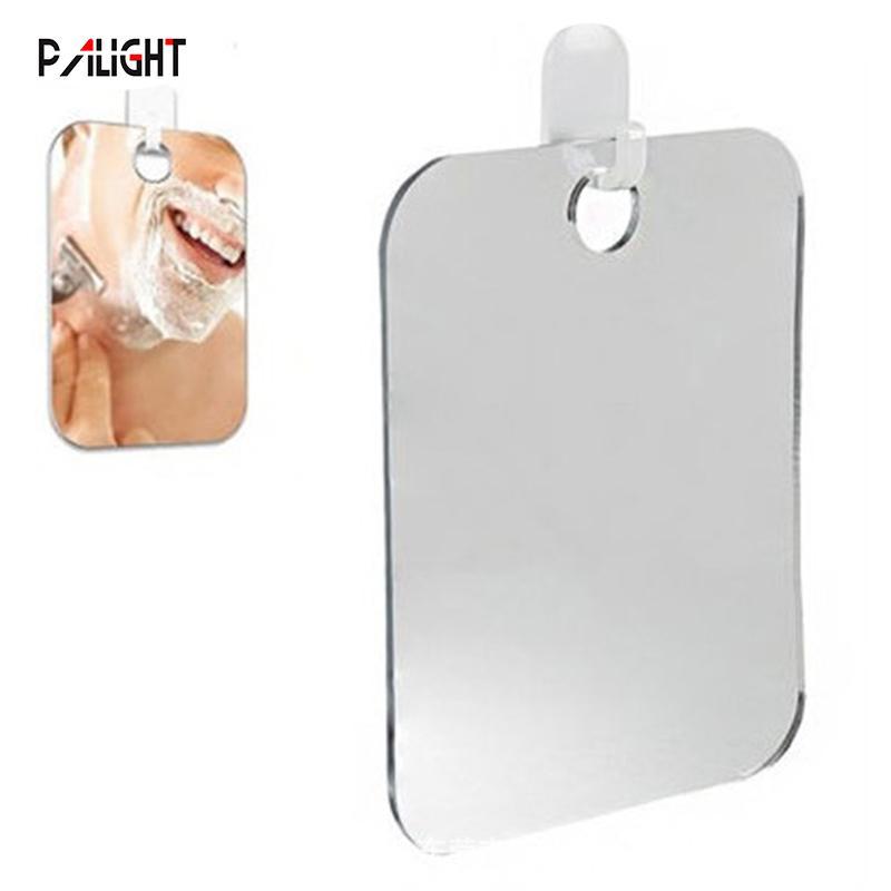 PAlight Fogless Shower Mirror Shaving Anti-Fog Shower Mirror for Bathroom Travel Household Kit