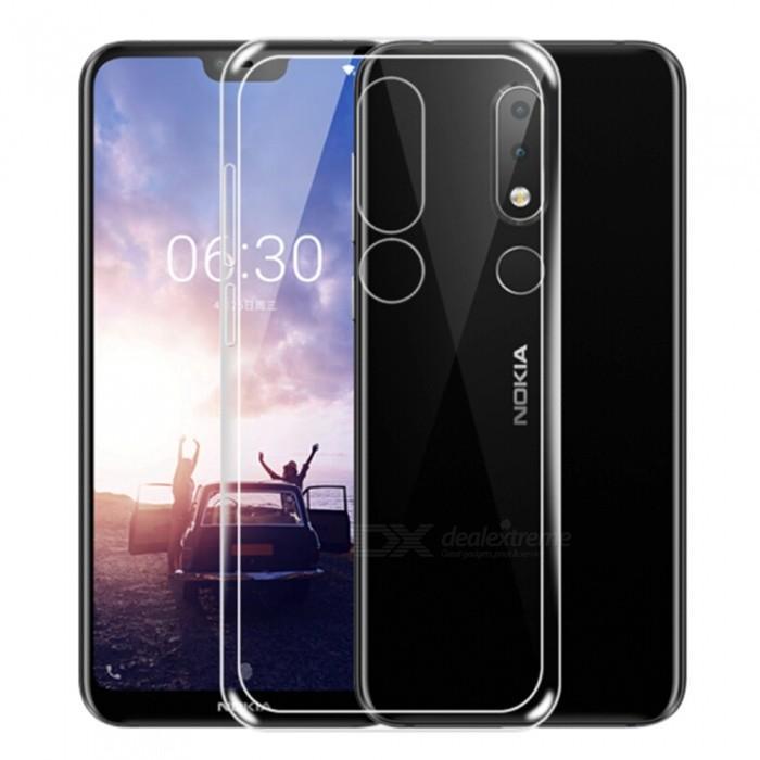 Ốp Silicon cho Nokia X6 / Nokia 6.1 Plus (Loại A+ chống ố vàng)