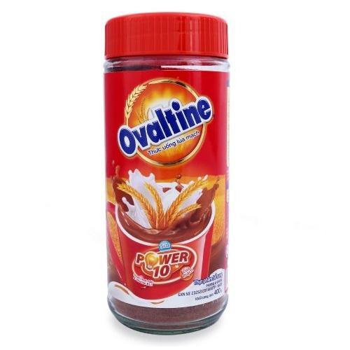 Thức uống lúa mạch Ovaltine dạng bột hũ 400g