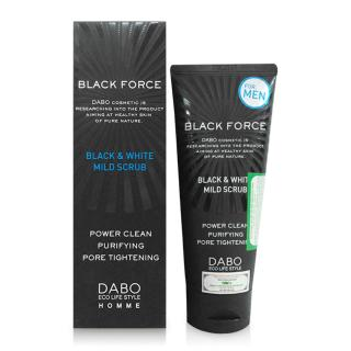 Sữa rửa mặt sạch mụn trắng da dành cho nam DABO Black Force thumbnail