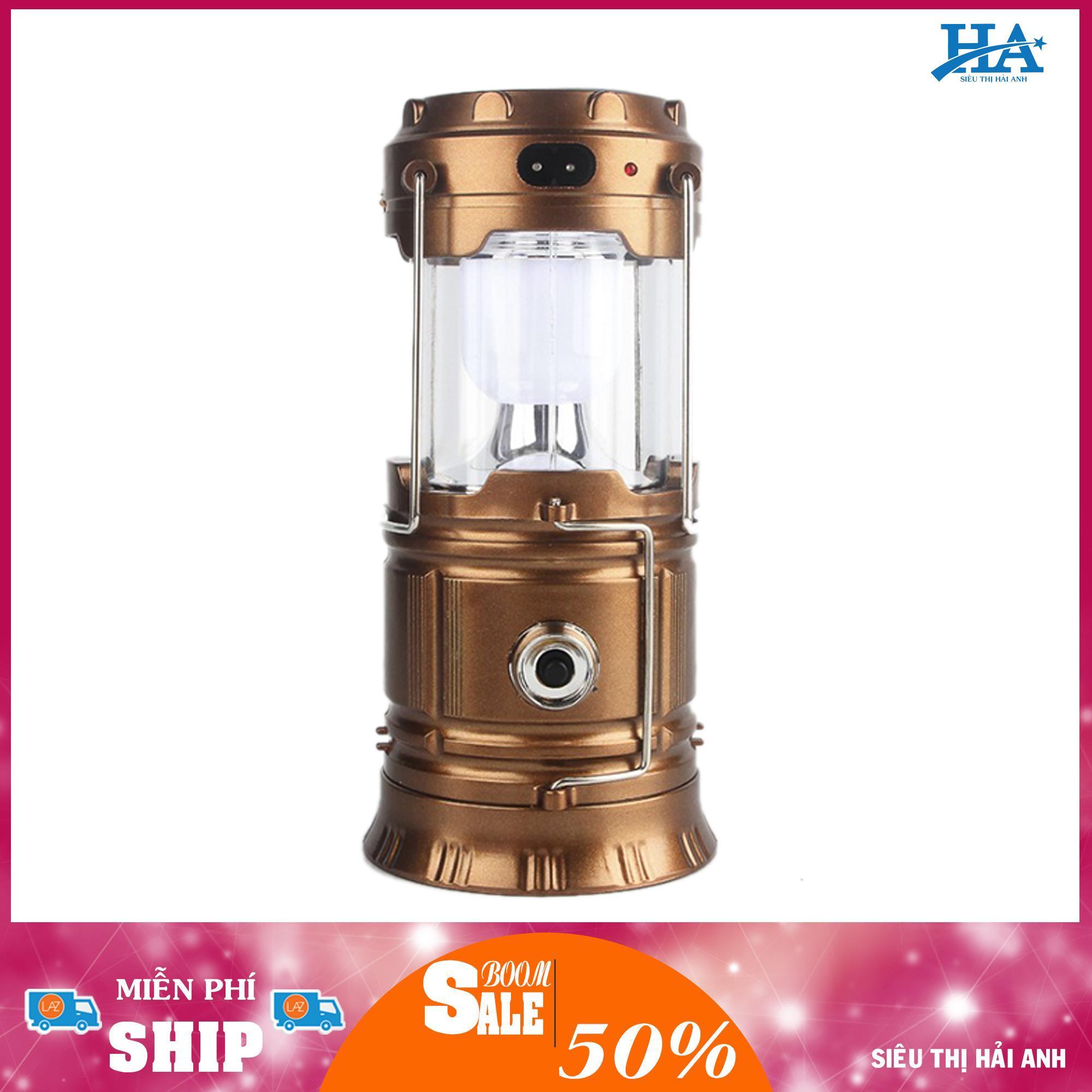 Đèn Tích Điện Đa Năng Sạc Điện Thoại, Đèn Pin, Đèn Sáng, Năng Lượng Mặt Trời – GDBINHC26