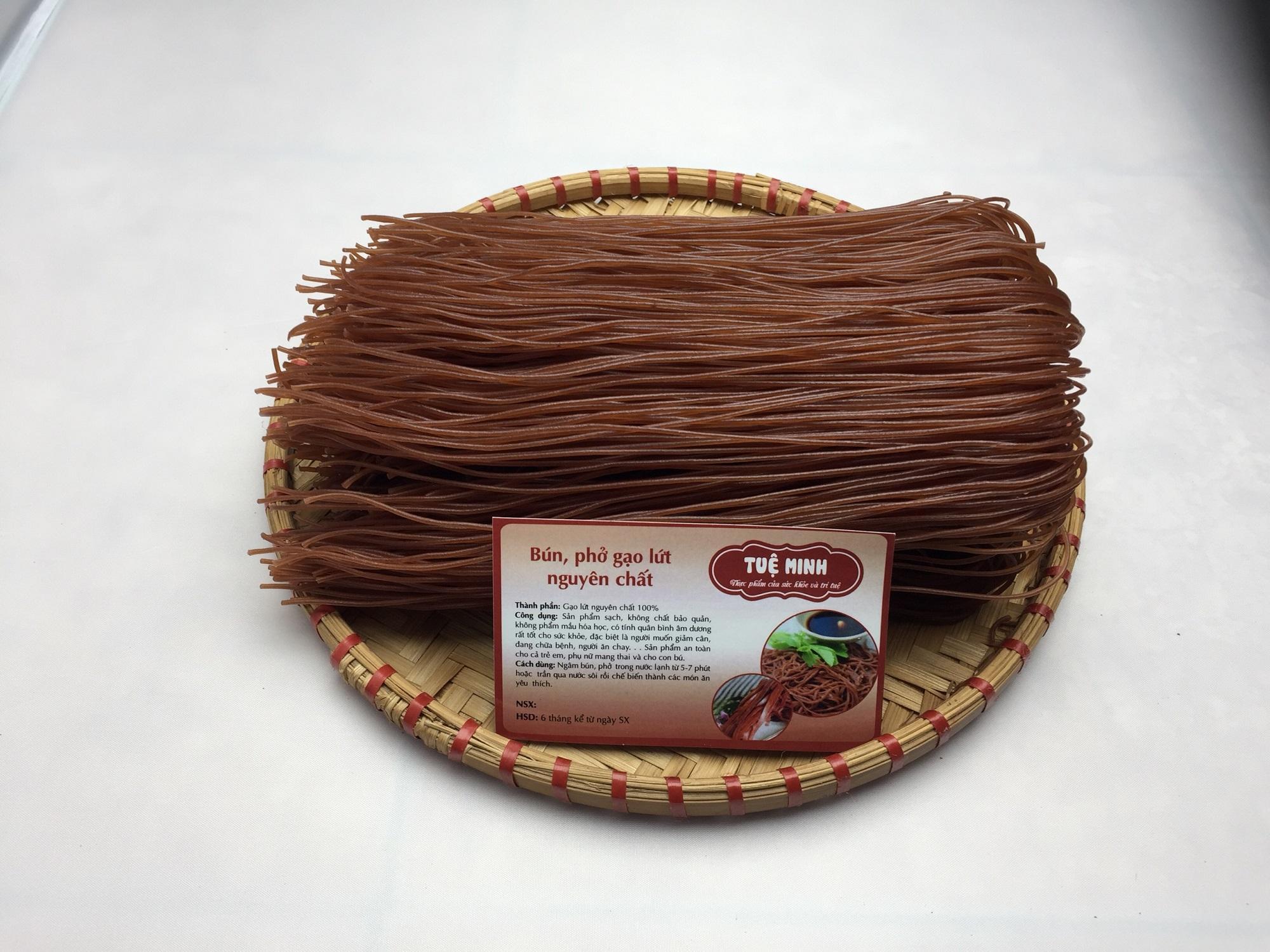 Bún gạo lứt nguyên chất Tuệ Minh  500gr