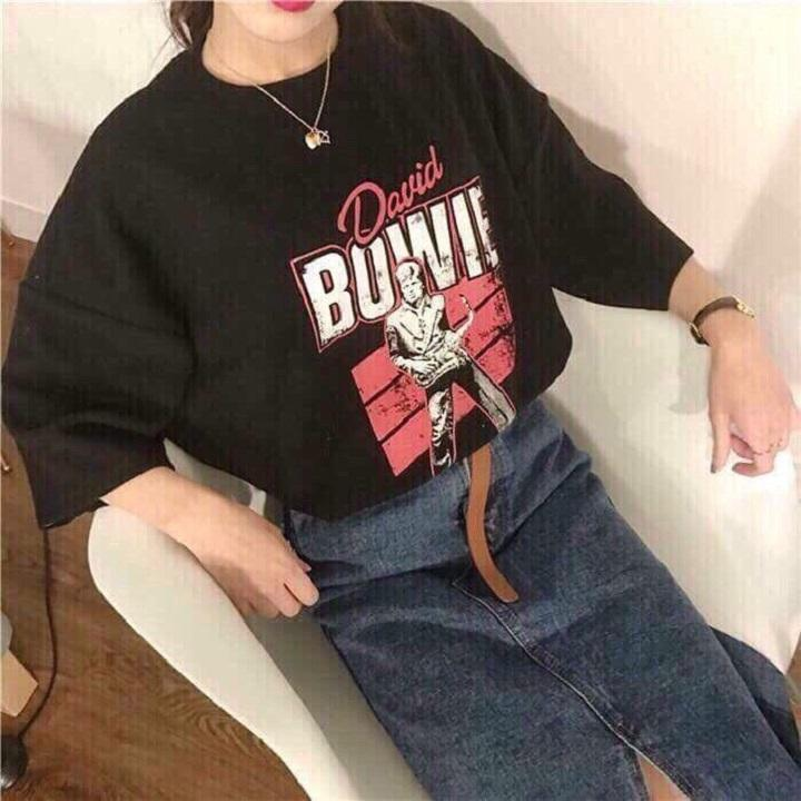áo thun bowie
