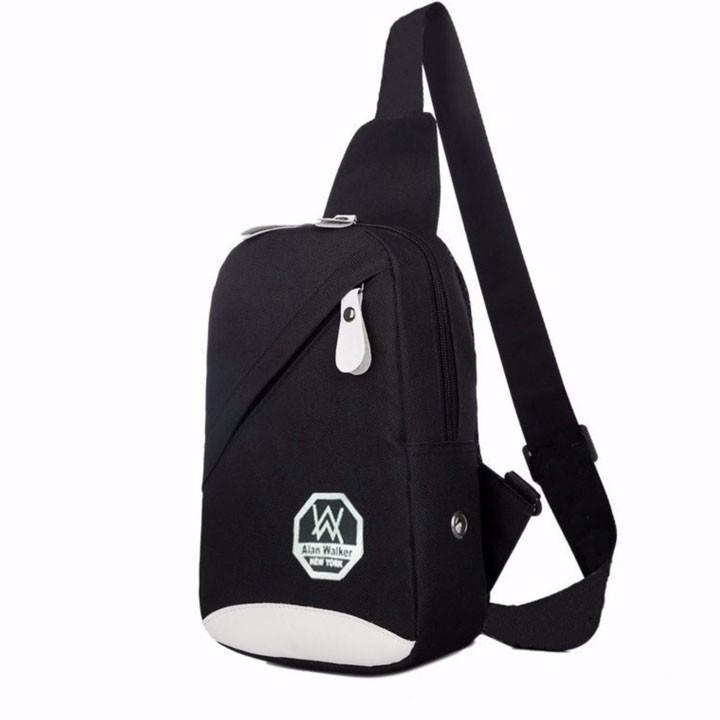 Túi đeo chéo Alan Walker (Đen)