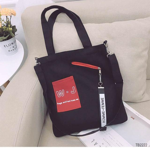 Túi tole WJthời trang phong cách Hàn QuốcGSS-1992
