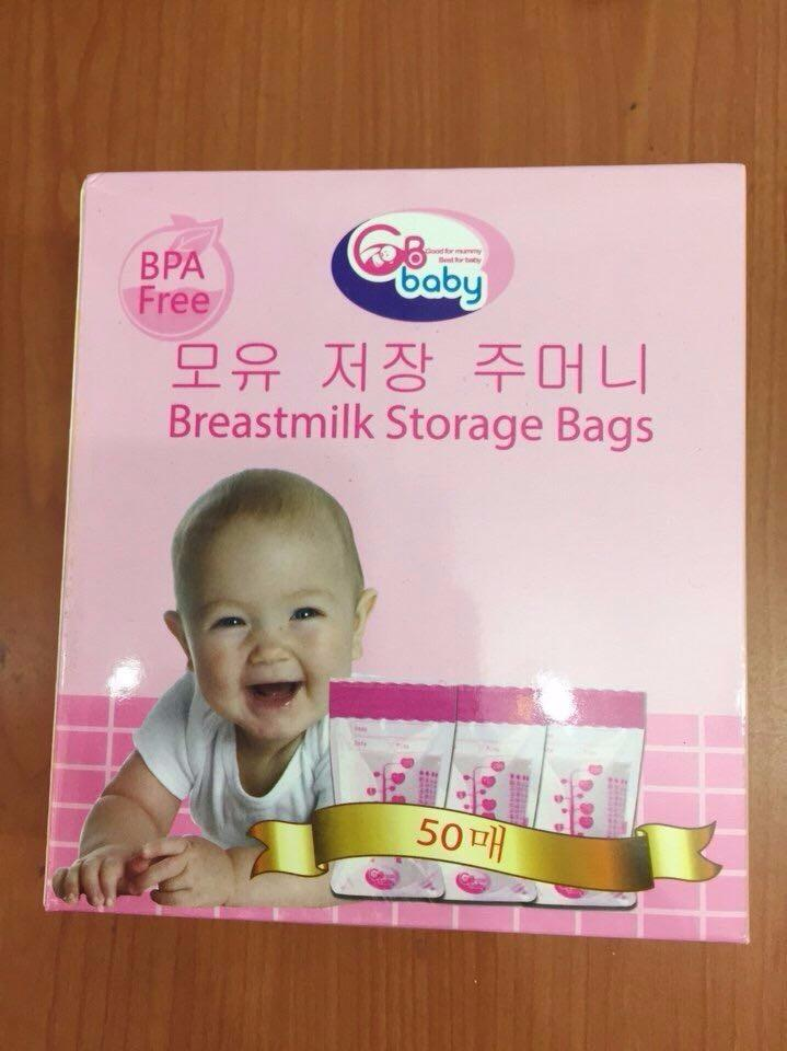 Hộp 50 Túi Trữ Sữa GB BABY hàn quốc cao cấp