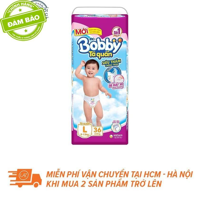 Tã quần Bobby L36 (9 - 13kg)