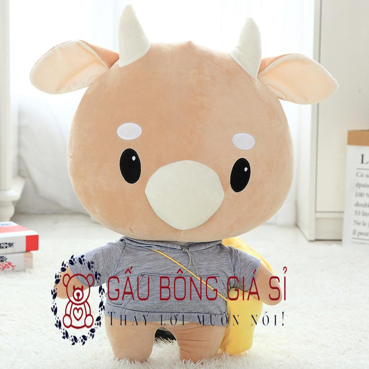 Gấu bông Bò chăm chỉ cao 65cm - Thư ký Kim sao thế