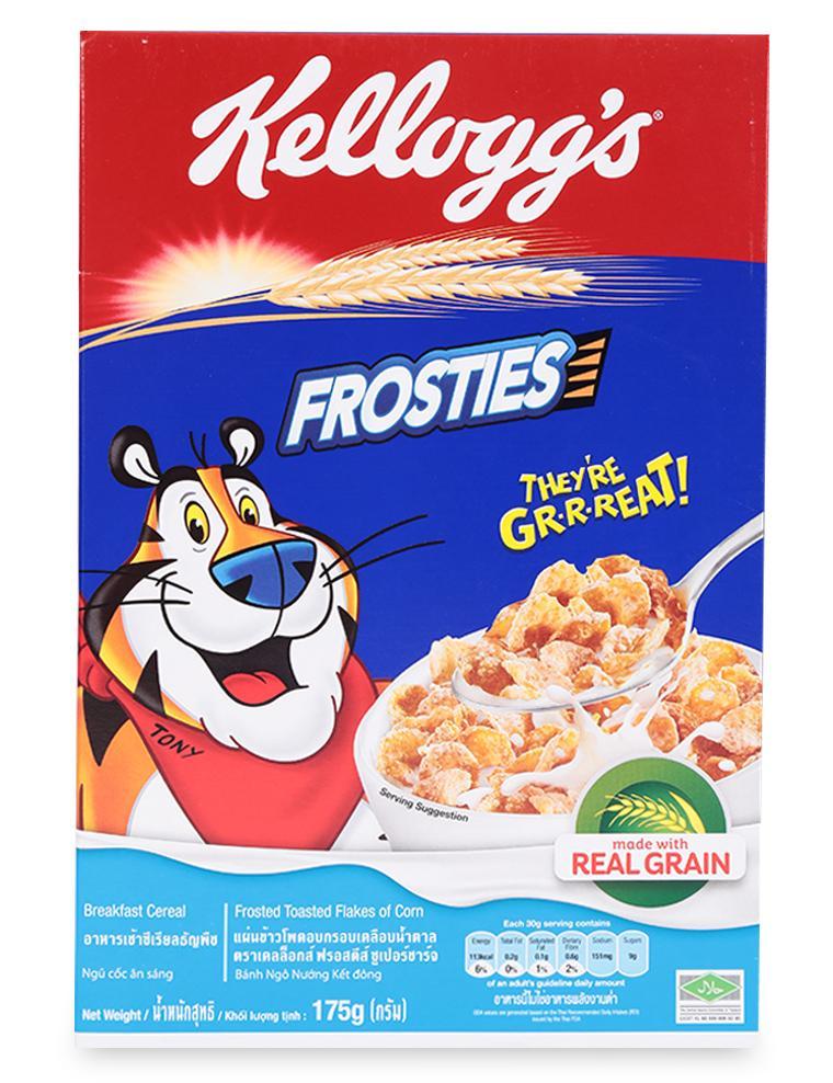 Ngũ Cốc Ăn Sáng Frosties Kellogg's Hộp 175G
