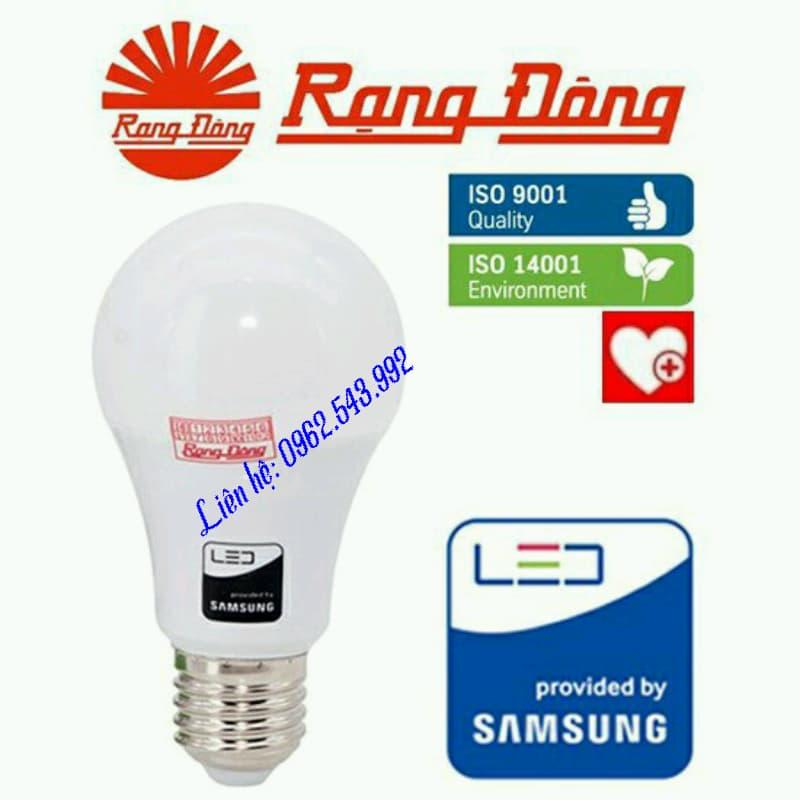Bóng Đèn LED BULB đủ w(2w.3w,5w,7w,9w,12w,15w,202,30w) a/s trắng.Rạng Đông, Chip LED SAMSUNG