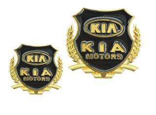 Bộ 02 Huy hiệu logo xe hơi KIA thumbnail
