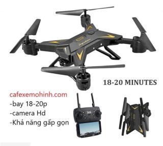 Máy bay flycam ky601s FULL HD gấp gọn bay 20 phút thumbnail