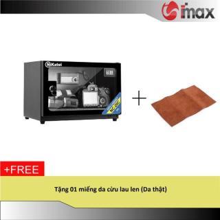 Tủ chống ẩm Nikatei NC-20 BLACK (20 lít) + Da cừu lau len ( Da thật) thumbnail