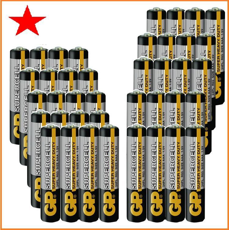 Bộ 40 viên pin AAA GP chất liệu Cacbon