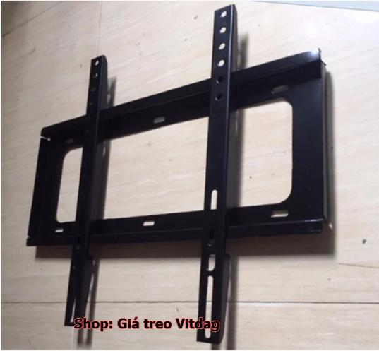 khung kệ treo TV 42-60inch, giá treo tivi thẳng sát tường.