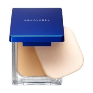 Phấn phủ Shiseido Aqualabel White Powdery 12.5g - Nhật bản (Màu xanh cho da dầu) thumbnail