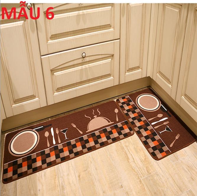 thảm nhà bếp sang trọng