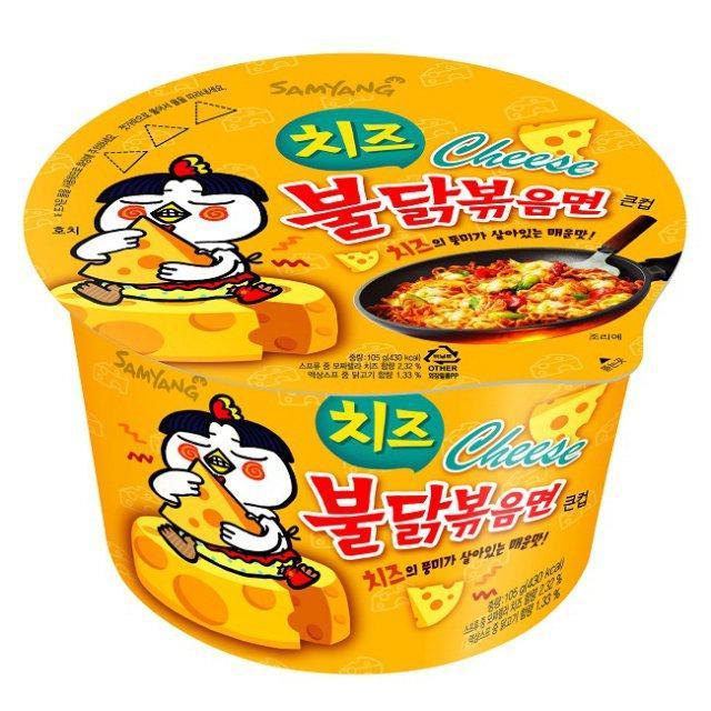 Tô mì cay vị phô mai SamYang Hàn Quốc 105g