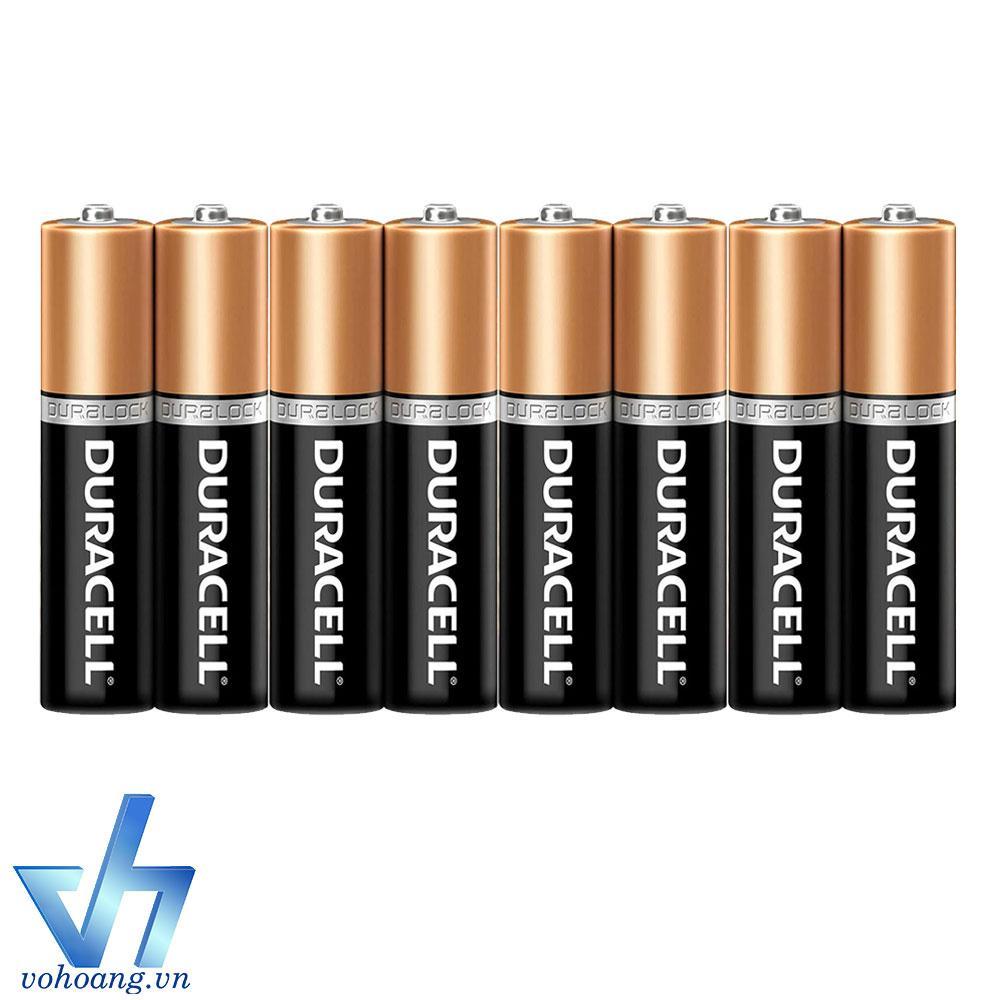Bộ 8 pin AAA Alkaline Duracell LR03 (Pin đũa)
