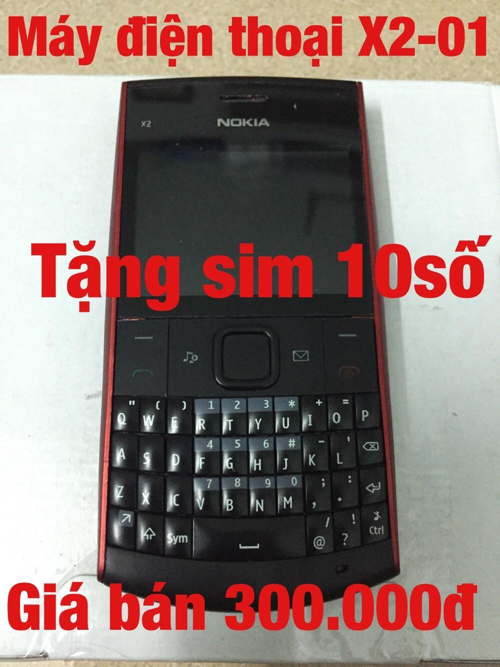 Máy điện thoại X2-01