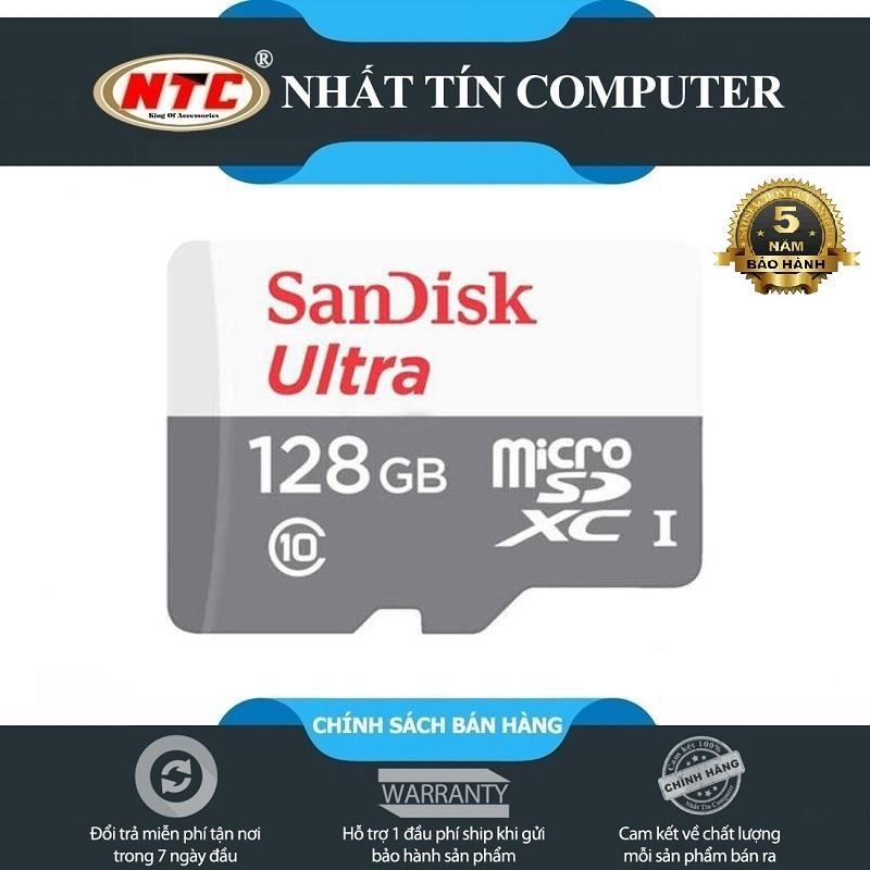 Giá Thẻ Nhớ Microsdxc sandi Ultra 128Gb Class 10 80Mb/S (Xám)