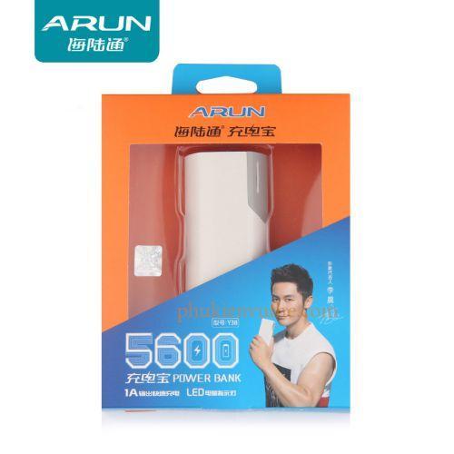 Pin sạc dự phòng Arun dung lượng 5600Mah