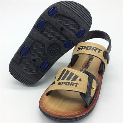 Sandals bé trai thời trang, phối họa tiết chữ cái