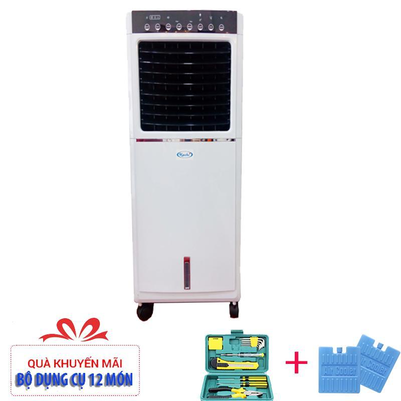 Máy làm mát không khí bằng hơi nước Kachi 20PC + (Tặng bộ dụng cụ 12 món vs 2 viên đá gel)